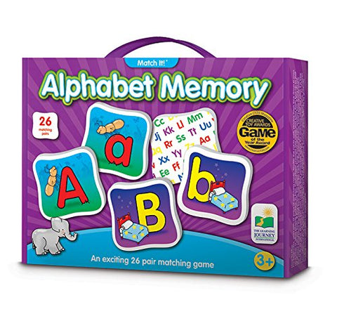 The Learning Journey Match It! Memory, Alphabet