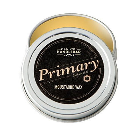 CanYouHandlebar All-Natural Primary Moustache Wax : Medium Hold, Every Day Use