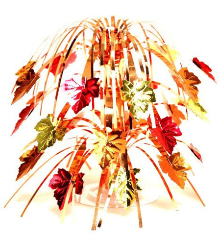 Creative Converting Fall Leaves Mini Foil Cascade Centerpiece