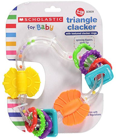Triangle Clacker Scholastic,Baby King,Sc7028
