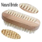 Aisilk Natural Bristle SPA Two-Sided Nail Brush