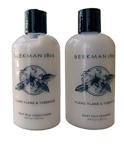 Beekman 1802 Ylang Ylang - Tuberose Goat Milk Shampoo and Conditioner