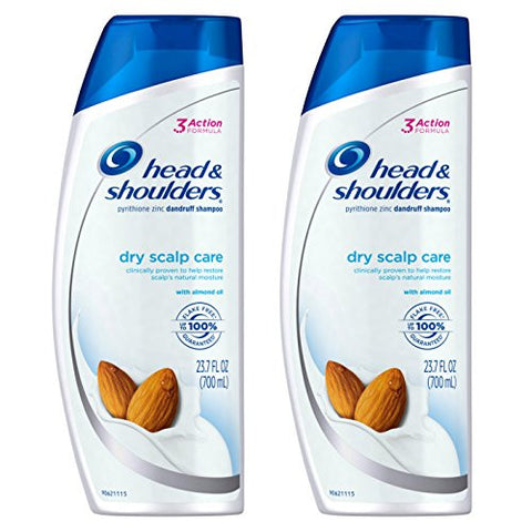 Head & Shoulders Dry Scalp Care with Almond Oil Dandruff Shampoo, 23.7 fl. oz.