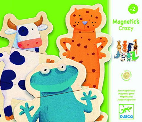 Djeco Crazy Animals Magnetics (24 pc)