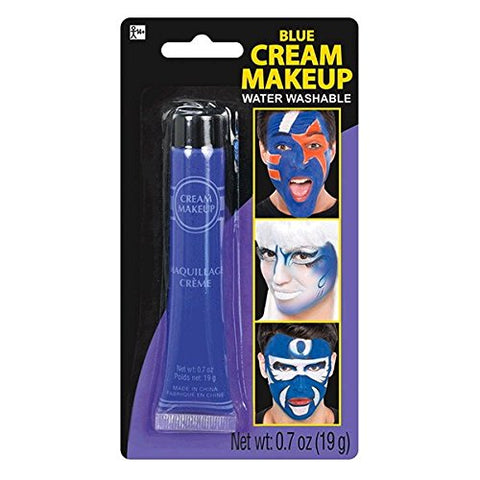 Party Ready Fashion Cream Makeup Costume Accessory, Blue, 0 7 Ounce Tube