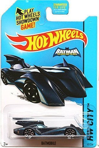 Hot Wheels, 2015 HW City, Batmobile Batman Brave and the Bold [Blue] #63/250