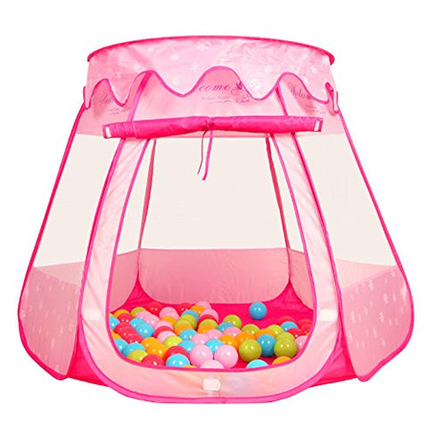 PortableFun Playhouse Ball Tent Toddler Toys