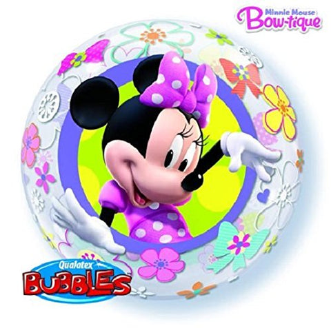 new Minnie Mouse Bow-tique Bubble Balloon