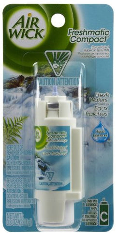 Air Wick FreshMatic Compact i-Motion Automatic Spray Refill, Aqua Essences Fresh Waters Fragrance, .8 oz.