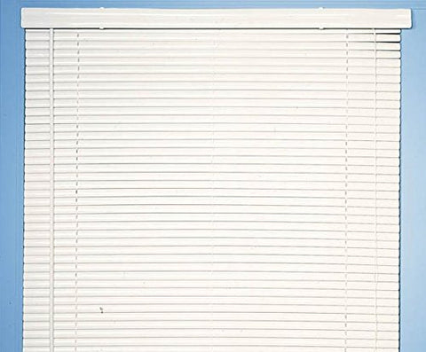 Achim Home Furnishings Morning Star 1-Inch Mini Blinds, 44 by 48-Inch, White