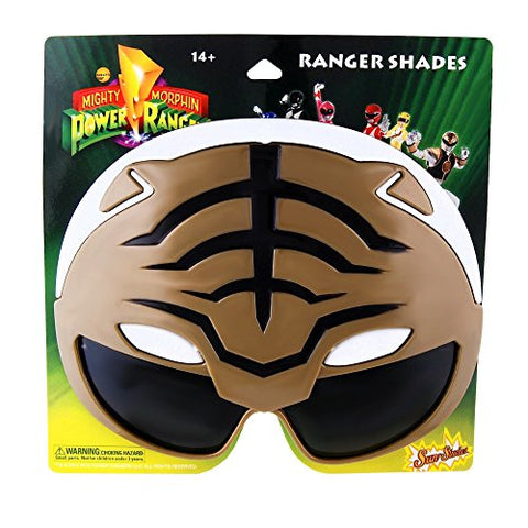 Sun-Staches H2W Officially Licensed Power Rangers Sunstaches, White