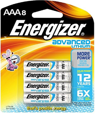 Energizer Advanced Lithium Batteries, AAA-8pk