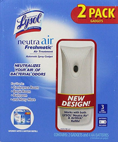 Lysol Neutra Air Freshmatic Automatic Spray Gadget (2 pk.)