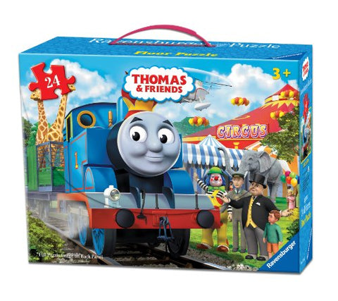 Ravensburger Thomas & Friends Circus Fun Floor Puzzle in a Suitcase Box, 24-Piece