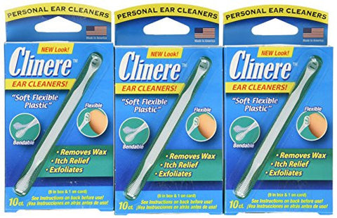 Clinere Ear Cleaners, 10 Count