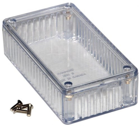 HAMMOND 1591BTCL ENCLOSURE, MULTIPURPOSE, PC, CLEAR (1 piece)