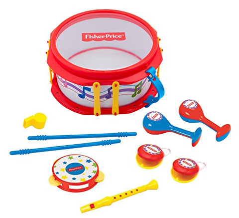 Fisher Price Music Musical Band Drumset