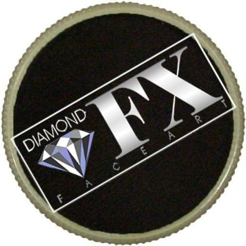 Diamond FX Essential Face Paint - Black (32 gm)