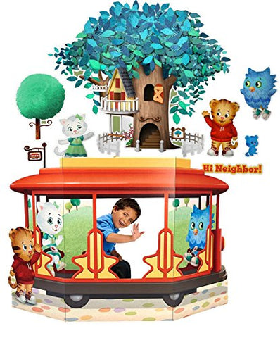 Daniel Tiger's Neighborhood Wall Decal and Stand In Combo Kit