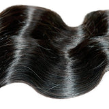 ALi Queen 5A 1 Bundles of 20 inches Off Black 100g Body Wave Brazilian Virgin Human Hair Weave 100% Human Hair Extensions