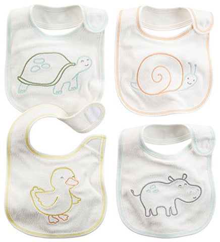 Carter's Bibs - Neutral - 4 ct