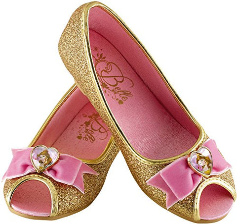 Disguise Belle Disney Princess Beauty & The Beast Prestige Shoes, 9/10 Small