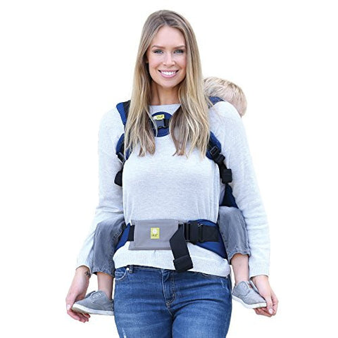 LILLEbaby Baby Carrier Tummy Pad (Grey/Medium)