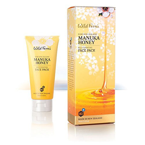 Wild Ferns Manuka Honey Rejuvenating Face Pack Mask