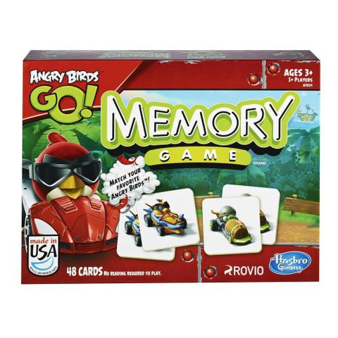 Hasbro Games Angry Birds Go! Memory Game