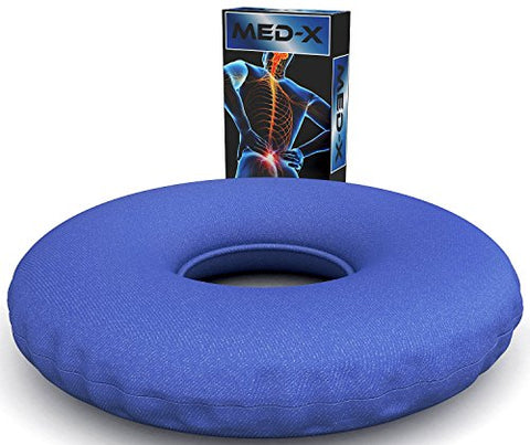 Degenerative Disc Disease Sciatic Nerve Pain Relief Donut Pillow Cushion Relieves Tailbone Pressure