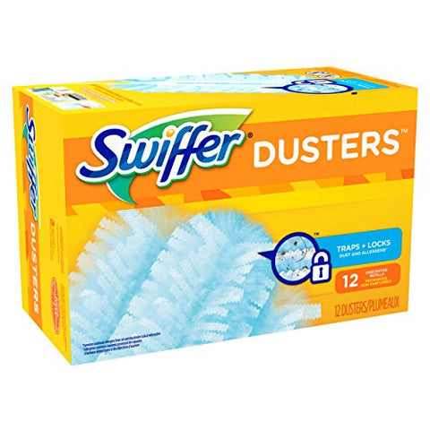 Swiffer 180 Dusters Refills, Unscented, 12 Count