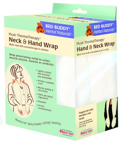Bed Buddy Herbal Naturals Plush Thermatherapy Neck and Hand Wrap