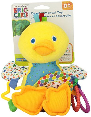 World of Eric Carle, Developmental Toy with Sound, Duck