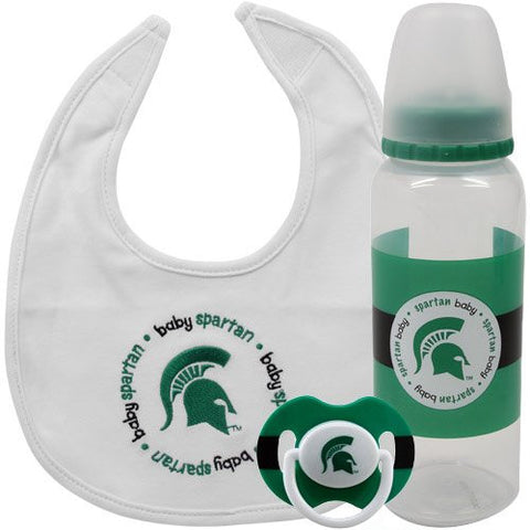 NCAA Michigan State Spartans Baby Gift Set