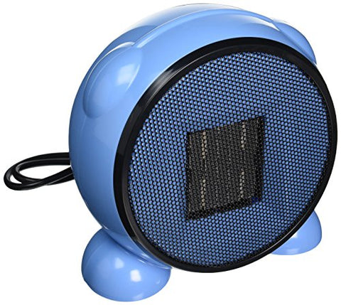 e-joy Ceramic Portable Personal Electric Space Heater, 500W, Blue