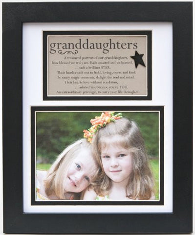 The Grandparent Gift Frame Wall Decor, Granddaughters