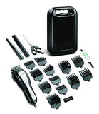 Andis 20-Piece All Hair Clipper at Home Haircutting Kit, Silver/Black, (68100)