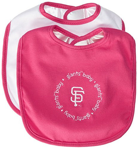 MLB San Francisco Giants Baby Fanatic Pink Baby Bib