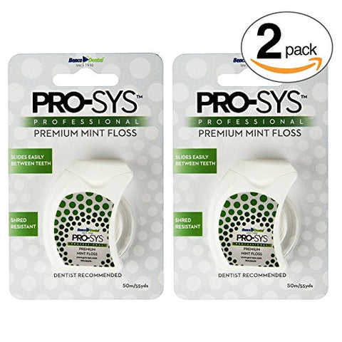 PRO-SYS Premium Mint Dental Floss –  Dental Floss (110 Yards Total)