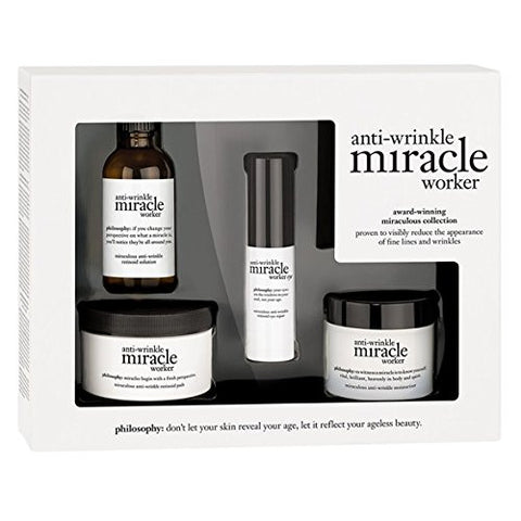 Philosophy Anti-wrinkle Miracle Worker Collection, 3 Count