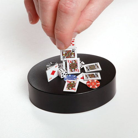 Phoebe Magnetic Poker Art Sculpture Desk Toy - 3.5 Inch