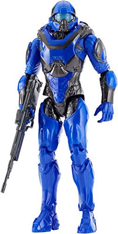 Halo 12 Spartan Athlon Blue Team Figure