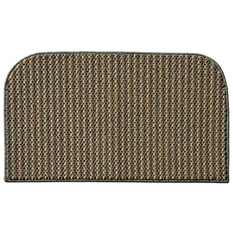 Garland Rug Berber Colorations Kitchen Slice Rug, 18-Inch by 30-Inch, Green