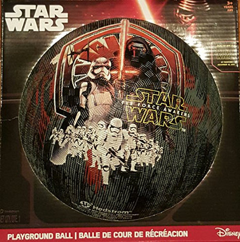 Hedstrom #8.5 Star Wars Episode Vii Rubber Playground Ball