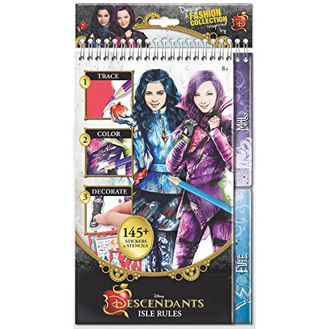The Descendants 2014 The Isle Rules - Reg. Sketchbook Playset