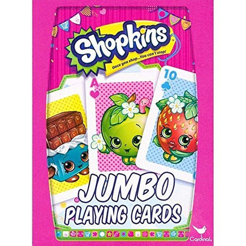 Shopkins Jumbo Playing Cards