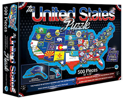 The USA Puzzle (500 Piece)