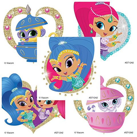 Shimmer & Shine Glitter Stickers - Prizes and Giveaways - 50 per Pack