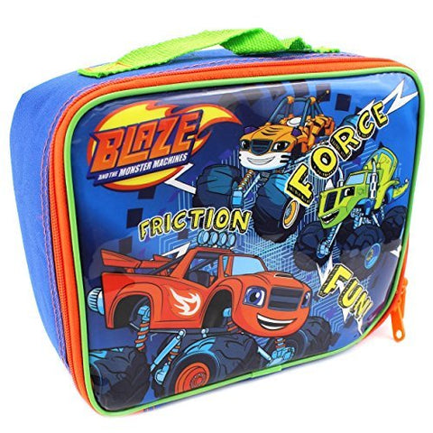 Blaze and the Monster Machines Soft Lunch Box (Fun Blue)