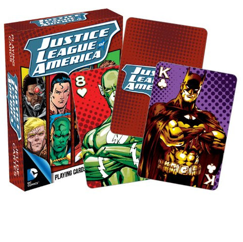 DC Comics Justice League of America Playing Cards
